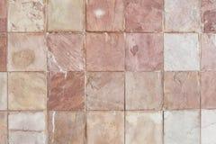 Rosafarbene Schiefer-Quadrate stockfotos