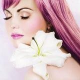 Rosafarbene Schönheit Stockfotos