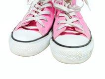 Rosafarbene Schuhe Stockbild