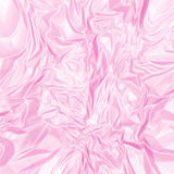 Rosafarbene Seide Stockbild
