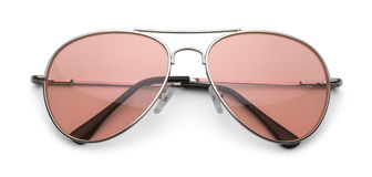 Rosafarbene Sonnenbrillen Lizenzfreies Stockbild