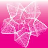 Rosafarbene Sterne Stockfotos