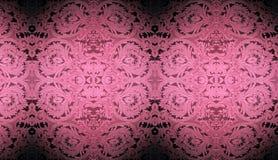 Rosafarbene Tapeten-Auslegung stock abbildung