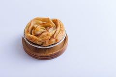 Rosafarbene Torte des Miniapfels Stockfotos