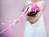 Rosafarbene Tulpen Lizenzfreie Stockfotografie