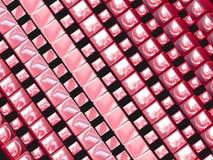 Rosafarbene Vierecke Lizenzfreies Stockbild