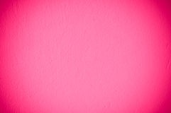 Rosafarbene Wand Stockfoto