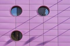 Rosafarbene Wand Lizenzfreies Stockbild