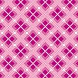 Rosafarbene Weinlese-nahtloses Muster Stockfotos