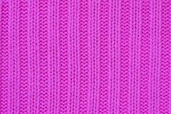Rosafarbene Wollebeschaffenheit Lizenzfreie Stockbilder