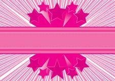Rosafarbener abstrakter Hintergrund Stockfotos