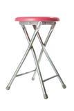Rosafarbener Aluminiumschemel Lizenzfreies Stockbild