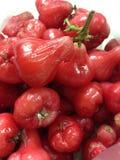 Rosafarbener Apfel der Frucht thailändisch stockbilder