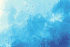Rosafarbener Aquarellhintergrund Farbiges Bild Lizenzfreies Stockfoto