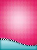 Rosafarbener Argyle Hintergrund Lizenzfreie Stockbilder