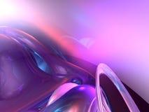 rosafarbener Auszug 3d Lizenzfreies Stockfoto
