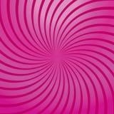Rosafarbener Auszug der Rotation Stockfoto