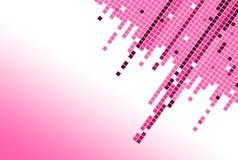 Rosafarbener Blockhintergrund Stockbild