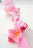 Rosafarbener Blumengurt Lizenzfreie Stockfotografie