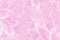 Rosafarbener Blumenhintergrund Lizenzfreies Stockbild