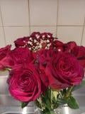 rosafarbener Blumenstrauß lizenzfreies stockbild