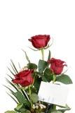Rosafarbener Blumenstrauß der Nahaufnahme Stockbild