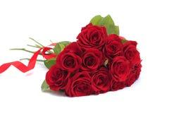 Rosafarbener Blumenstrauß des Valentinstags lizenzfreie stockfotos