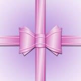 Rosafarbener Bogen Stockbilder