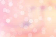 Rosafarbener Bokeh Hintergrund Stockbild