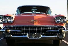 Rosafarbener Cadillac in Florida Lizenzfreies Stockbild