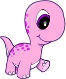 Rosafarbener Dinosaurier vektor abbildung