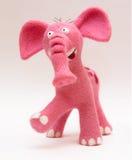 Rosafarbener Elefant Stockfotos