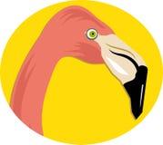 Rosafarbener Flamingo lizenzfreie abbildung