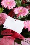 Rosafarbener Gerberablumenstrauß Lizenzfreie Stockfotografie