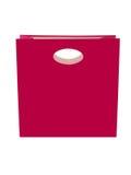 Rosafarbener Geschenk-Beutel Stockfotos