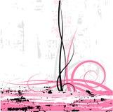 Rosafarbener grunge Hintergrund Stockbild