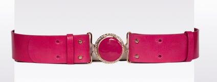 Rosafarbener Gurt Stockfoto
