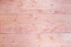 Rosafarbener hölzerner Hintergrund Hölzerne Beschaffenheitsmuster-Plankenoberfläche malte weißen und rosa Pastell Stockfoto