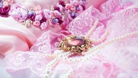 Rosafarbener Hintergrund stockfotografie