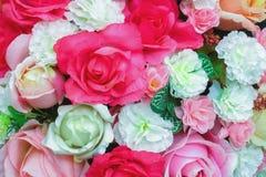 Rosafarbener Hintergrund der süßen rosa Fälschung Stockbilder
