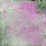 Rosafarbener Hintergrund der Weinlese Stockfoto