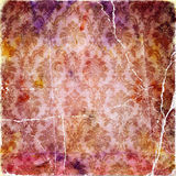 Rosafarbener Hintergrund der Weinlese Lizenzfreies Stockfoto