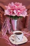 Rosafarbener Hochzeitsblumenstrauß der Orchideen Lizenzfreies Stockbild