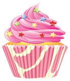 Rosafarbener kleiner Kuchen Lizenzfreie Stockbilder
