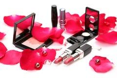Rosafarbener Lippenstift Stockbild