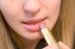 Rosafarbener Lippenstift Lizenzfreies Stockbild