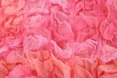 Rosafarbener materieller Hintergrund Stockfoto