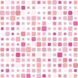 Rosafarbener Mosaikhintergrund Stockbild