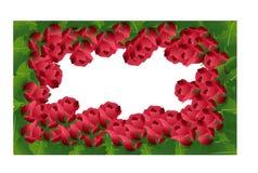 Rosafarbener Rahmen des abstrakten Hintergrundes stock abbildung