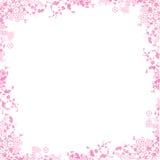 Rosafarbener Rand Stockbild